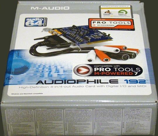 m audio audiophile 192 manual