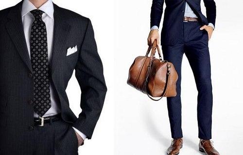 ремень для делового костюма
