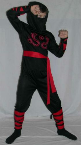 Новогодний костюм для мальчика своими руками фото ниндзя