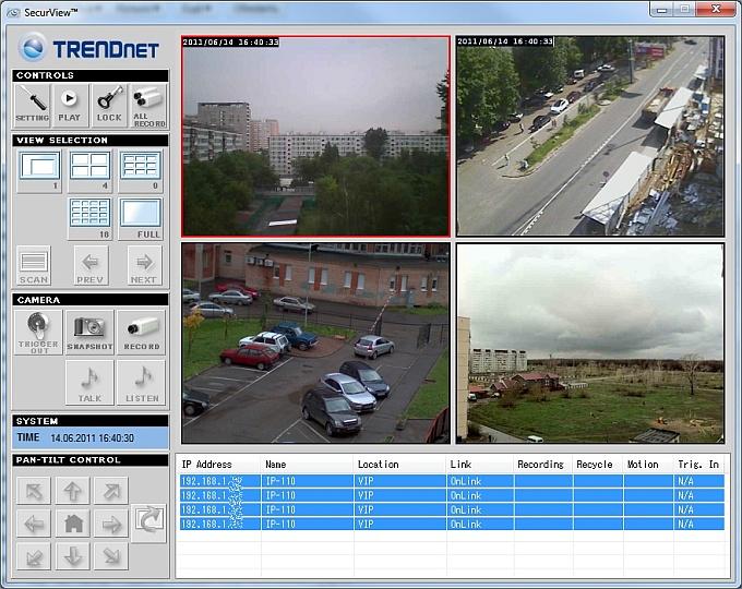 Видеонаблюдение через веб камеры