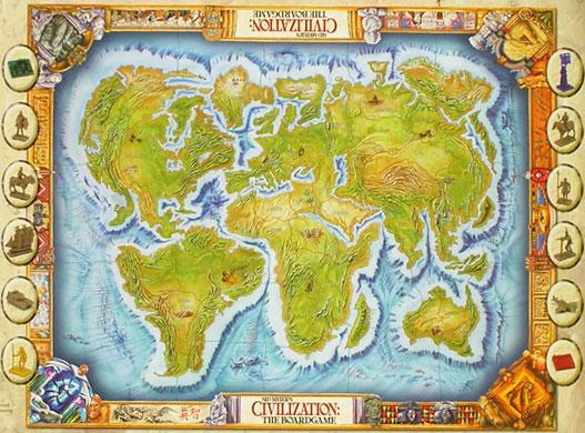 Как создать карту в цивилизации 5