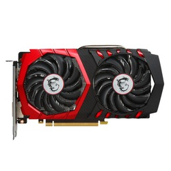 MSI GeForce GTX 1050 Ti 1379Mhz PCI-E 3.0 4096Mb 7108Mhz 128 bit DVI HDMI HDCP GAMING X