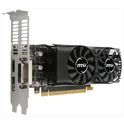 MSI GeForce GTX 1050 Ti 1290Mhz PCI-E 3.0 4096Mb 7008Mhz 128 bit DVI HDMI HDCP LP