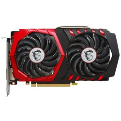 MSI GeForce GTX 1050 Ti 1303Mhz PCI-E 3.0 4096Mb 7008Mhz 128 bit DVI HDMI HDCP GAMING