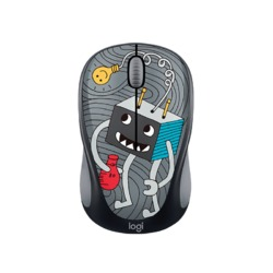 Logitech Wireless Mouse M238 Doodle Collection - LIGHTBULB 910-005049