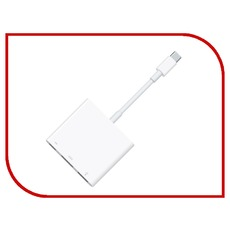 Аксессуар APPLE USB-C Digital AV Multiport Adapter MJ1K2ZM/A