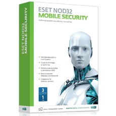 ESET ПО Eset NOD32 Mobile Security 3ПК/1 год (12мес) (NOD32-ENM2-NS(BOX)-1-1 )