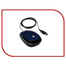 купить мышь компьютерную HP X1200 Revolutionary H6F00AA Wired Mouse Blue USB