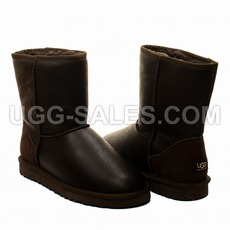Ugg Classic Short Metallic Chocolate 41 (US 10)