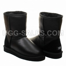 Ugg Man Classic Short Metallic Black 43 (US 10)