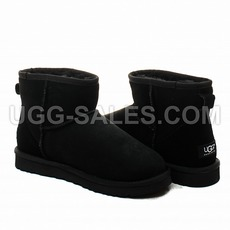 Ugg Man Classic Mini Black 41 (US 8)
