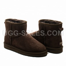 Ugg Man Classic Mini Chocolate 45 (US 12)