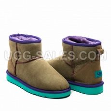 Ugg Classic Mini Grey Mint 41 (US 10)