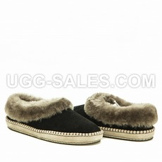 Ugg Women Slippers WRIN Black 40 (US 9)