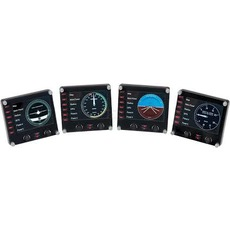 Контроллер игровой Logitech G Saitek Pro Flight Instrument Panel, Black 945-000008